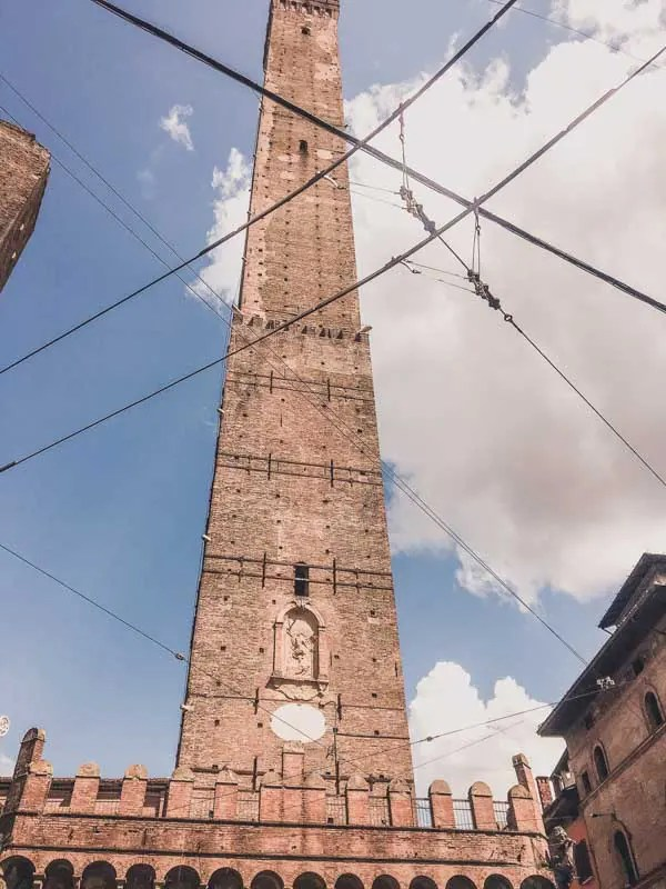 Twin Towers in Bologna