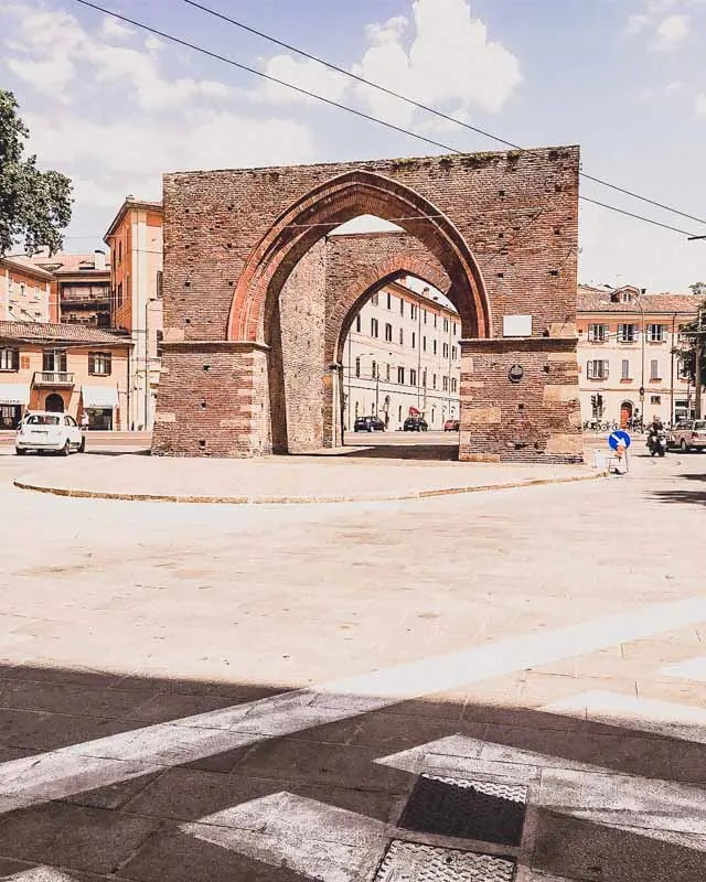 Old City Gate of Bologna