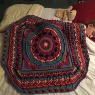 Yes, I used my sleeping child to give some perspective on the size...