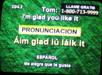 Aprendo inglés leyendo en español (4/5)