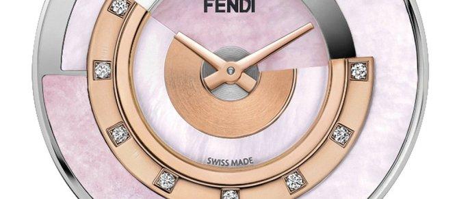 Fendi Timepieces - Policromia Pink Opal