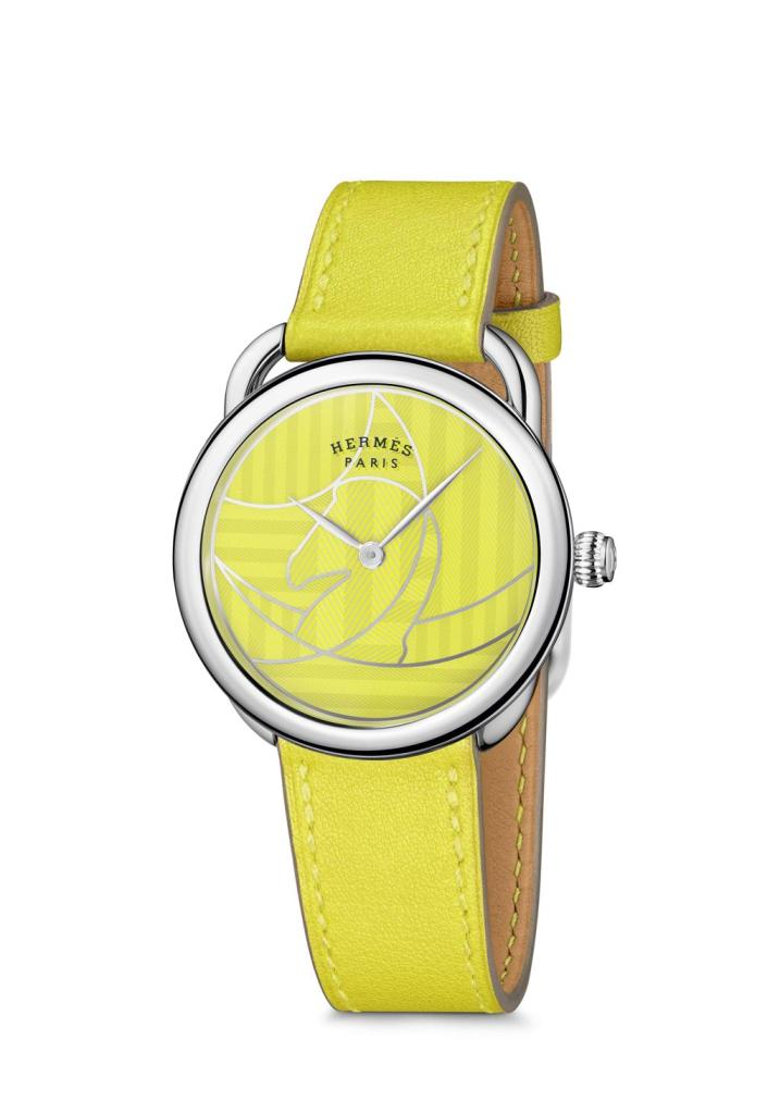 Hermes Arceau Casaque yellow 2