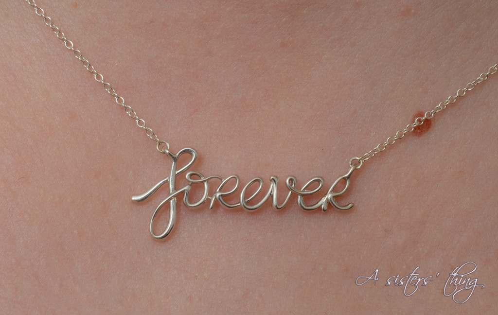 Tiffany Paloma Picasso forever pendant