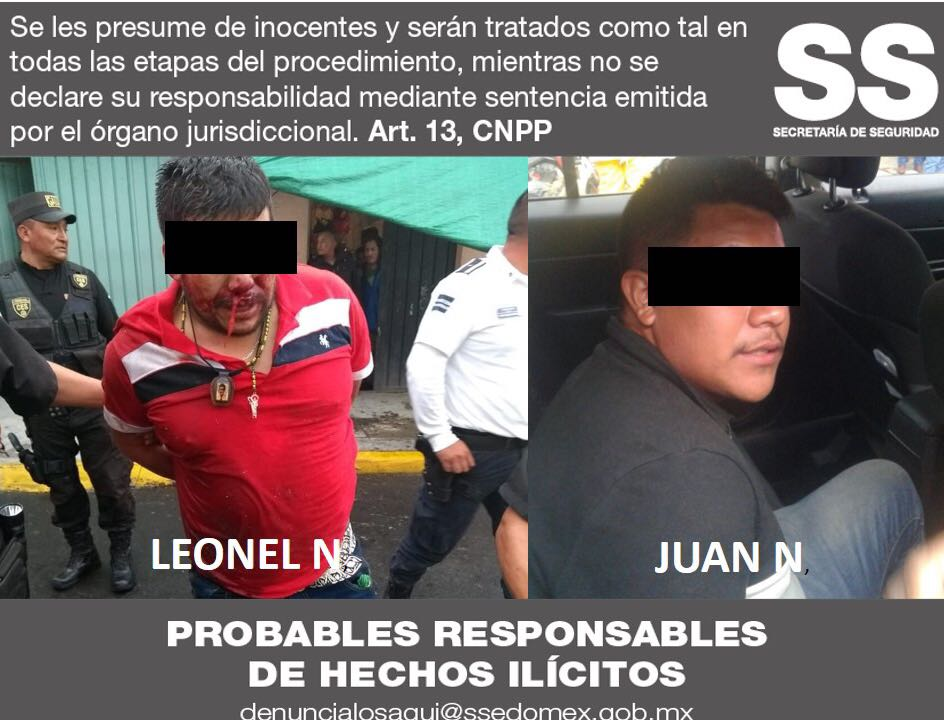 Cae en Edomex presunto jefe de plaza de la Familia Michoacana