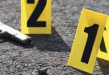 agresión arma homicidio casquillo