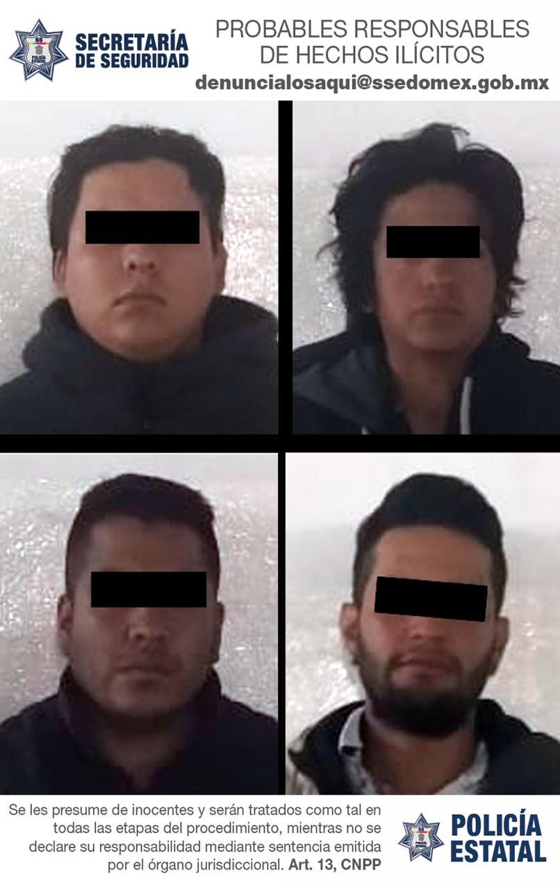 Detienen a cuatro implicados en el robo de un montacargas en Ocoyoacac - Noticiario Así Sucede