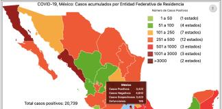 COVID19 Edomex Coronavirus Mapa 010520