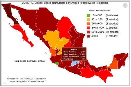 coronavirus COVID19 Edomex 220520