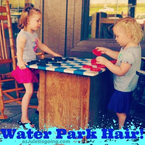 Water Park Hair