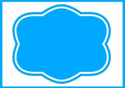 Blank Basket Label 2