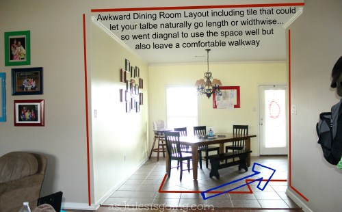 Dining Table Layout