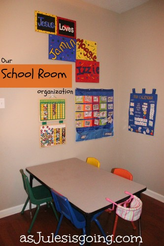 Our School Room Organization