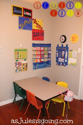 School Room Setup