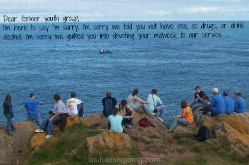 Dear Former Youth Group {an open letter to generation Xers and Millennials}
