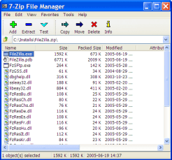 7-Zip - A excellant replacement for Winzip and WinRar 2
