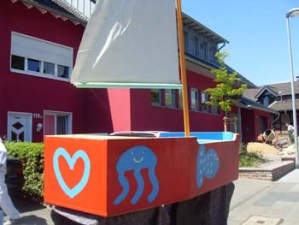 Professionelle Gestaltung von Spielgeräten für den Außenbereich für Kindergärten im Raum Aachen.