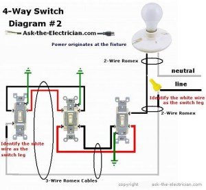 How to Wire a 4 Way Switch