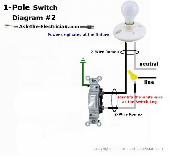 Toggle switch wiring readingrat
