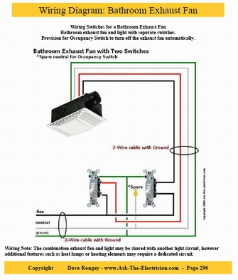 wiring diagram for bath fan light images bathroom exhaust fans light wiring diagram