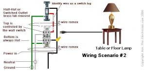 How to Wire a Switched Outlet with Wiring Diagrams