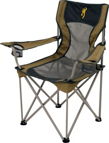 Browning Grizzly one of the best chairs for shore fishing