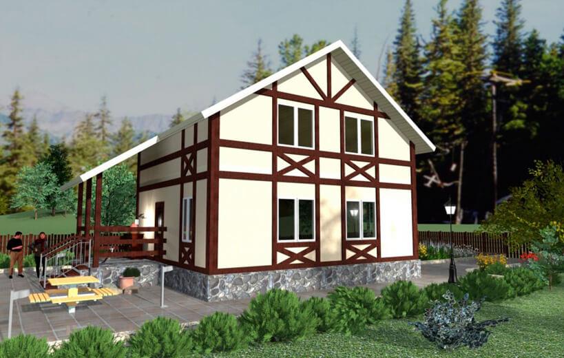 Необходимость проектирования дома из СИП панелей