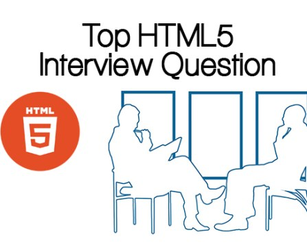 Top HTML5 Interview Question