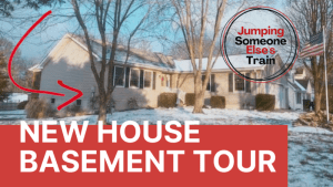 New House Basement Model Railroad Tour