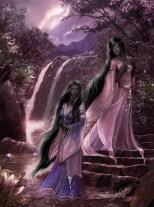 Liralian and Erulorian by Leah Keeler