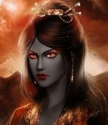 The immortal lady Ruzenathra by Leah Keeler