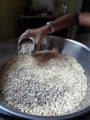 Add sunflower seeds