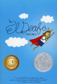 El Deafo is an autobiographical story of child who became her own superhero, all while being deaf.