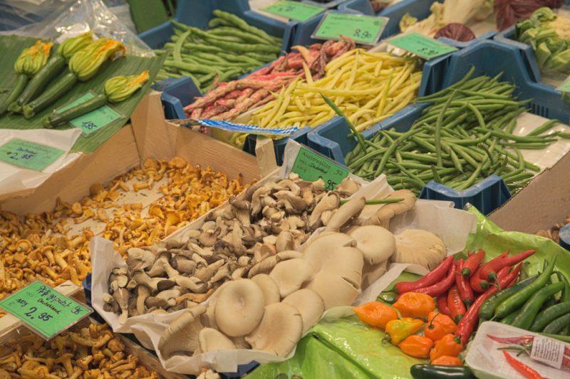 Nice presentation of vegetables