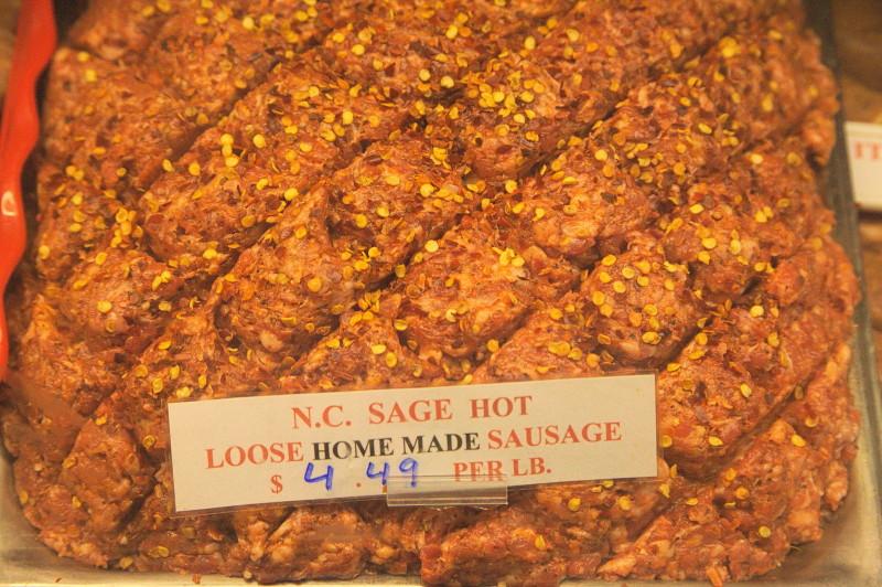 Loose sausage