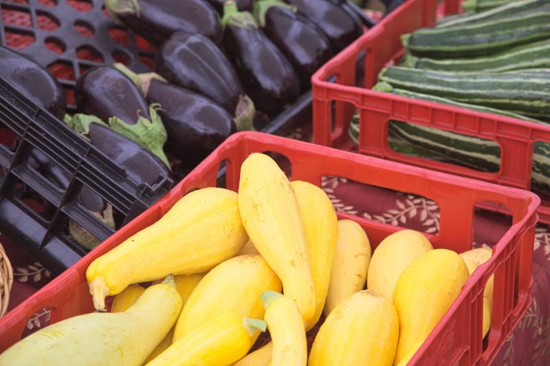 Eggplants & pumpkins