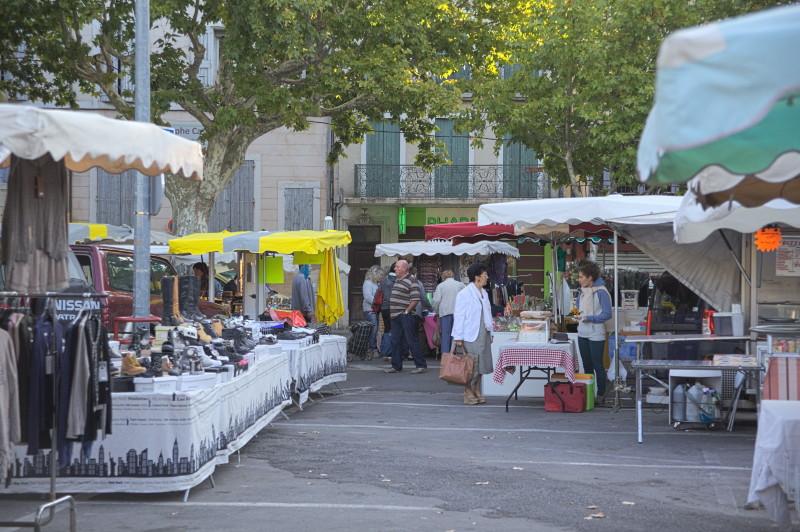 Flea & food market at once