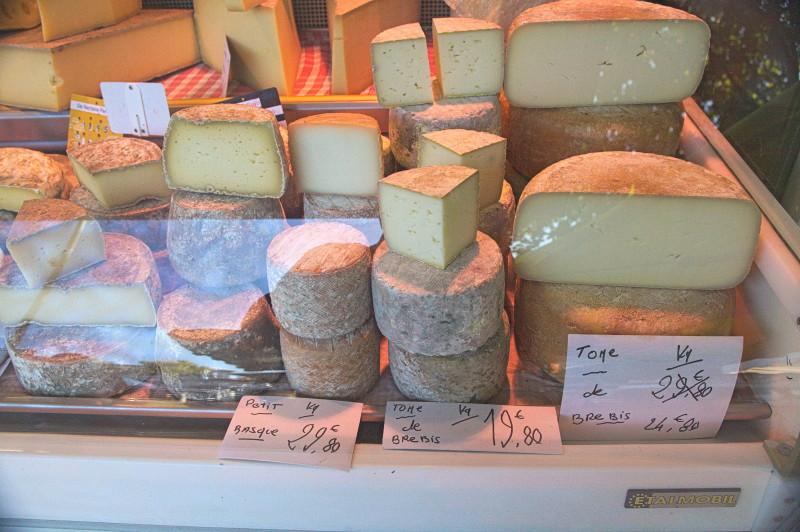 Take a whole cheese back home