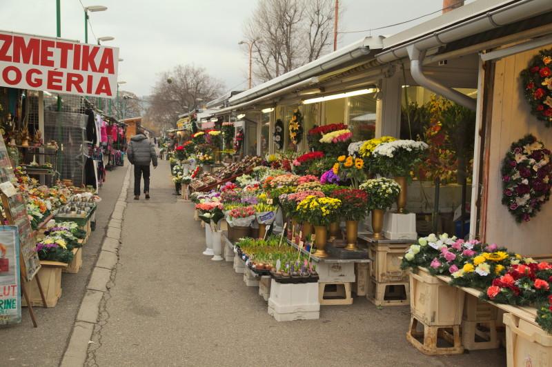 The flower aisle