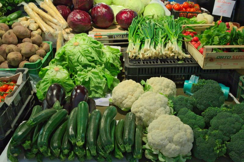 Winter season vegetables
