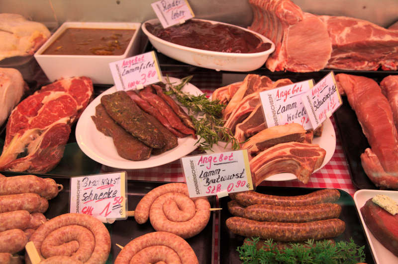 A selection from the award winning butcher