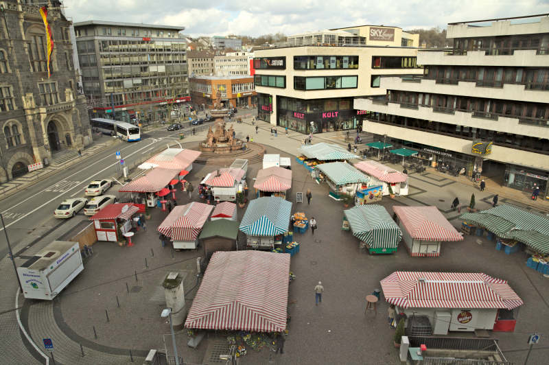 The market - view from the top