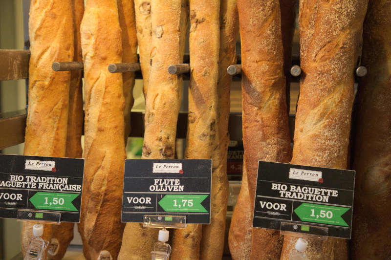 French organic baguette