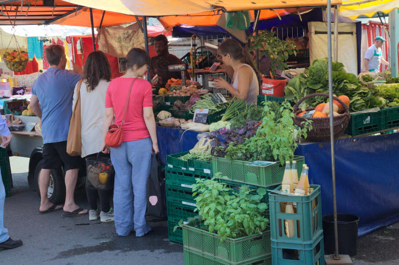 The organic stall