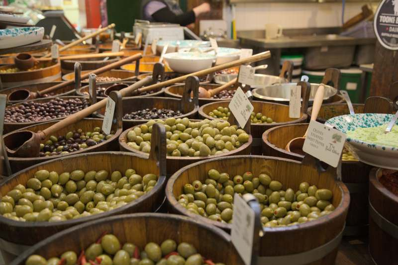 Olives as we like them