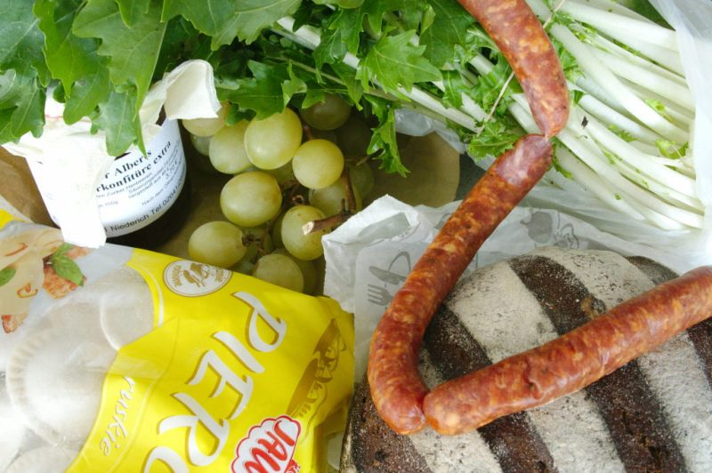 My purchases from the Duisdorf market