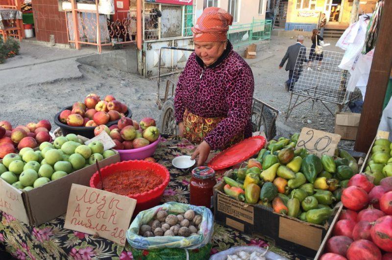 Kyrgyzstan market in Osh