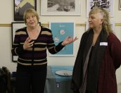 Emmaus Director Diane Docherty & Caroline Jaine from Askance