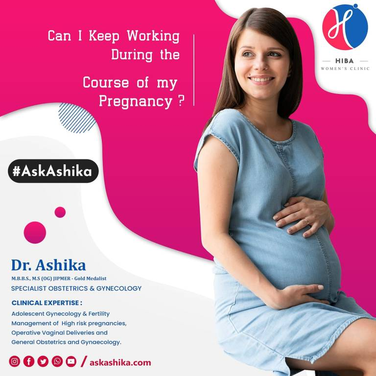 Read more about the article Can I Keep Working during the Course of my Pregnancy?