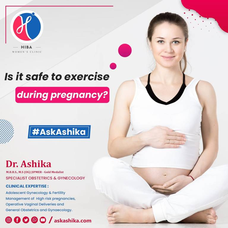 Read more about the article Is it safe to exercise during pregnancy?