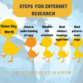 S T E P S F O R INTERNET RESEARCH(1)